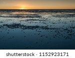 sunset in the salar de uyuni ... | Shutterstock . vector #1152923171