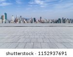 panoramic skyline and modern... | Shutterstock . vector #1152937691