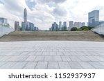panoramic skyline and modern... | Shutterstock . vector #1152937937