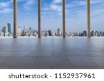 panoramic skyline and modern... | Shutterstock . vector #1152937961