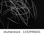 abstract black and white light... | Shutterstock . vector #1152940631