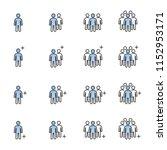 human resources management... | Shutterstock .eps vector #1152953171