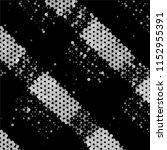 black and white grunge stripe... | Shutterstock .eps vector #1152955391