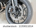 close up of front radial mount... | Shutterstock . vector #1153011014