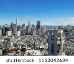 aerial view downtown san... | Shutterstock . vector #1153042634
