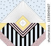 seamless geometric background... | Shutterstock .eps vector #1153045607