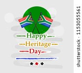 illustration of south africa...   Shutterstock .eps vector #1153055561