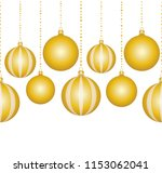 seamless vector border with... | Shutterstock .eps vector #1153062041