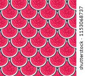 seamless pattern with halves... | Shutterstock .eps vector #1153068737