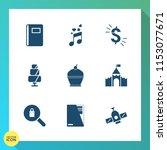 modern  simple vector icon set... | Shutterstock .eps vector #1153077671