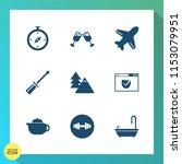 modern  simple vector icon set... | Shutterstock .eps vector #1153079951