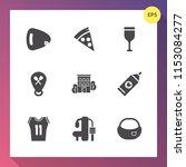 modern  simple vector icon set... | Shutterstock .eps vector #1153084277