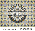pay attention arabesque style... | Shutterstock .eps vector #1153088894