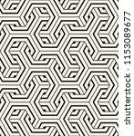 vector seamless pattern. modern ... | Shutterstock .eps vector #1153089677