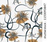 flowers are full of romance the ... | Shutterstock . vector #1153093847