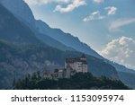gutenberg castle  liechtenstein | Shutterstock . vector #1153095974