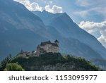 gutenberg castle  liechtenstein | Shutterstock . vector #1153095977