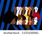 diversity   violence against...   Shutterstock .eps vector #1153100081