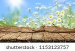 empty table background | Shutterstock . vector #1153123757