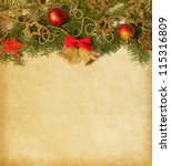 Beige Paper Background With...