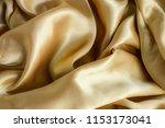 fabric silk texture background | Shutterstock . vector #1153173041