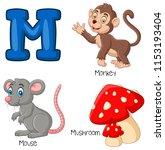 Illustration Of M Alphabet