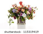 Flower Arrangement In Vase