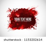 background with red blood... | Shutterstock .eps vector #1153202614