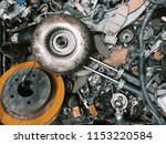 background of car spare parts   Shutterstock . vector #1153220584