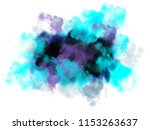 poster with smoke | Shutterstock . vector #1153263637
