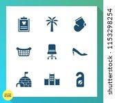 modern  simple vector icon set... | Shutterstock .eps vector #1153298254