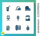 modern  simple vector icon set... | Shutterstock .eps vector #1153298341