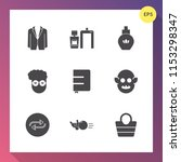 modern  simple vector icon set... | Shutterstock .eps vector #1153298347