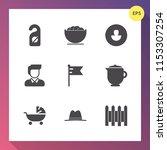modern  simple vector icon set... | Shutterstock .eps vector #1153307254