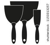 black and white metal spatula...