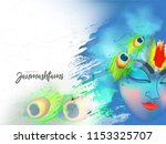 beautiful illustration of lord... | Shutterstock .eps vector #1153325707