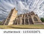 Exeter Cathedral, properly known as the Cathedral Church of Saint Peter in Exeter, is an Anglican cathedral, and the seat of the Bishop of Exeter, in the city of Exeter, Devon, in South West England