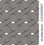 vector seamless pattern. modern ... | Shutterstock .eps vector #1153359007
