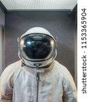 soviet cosmonaut or astronaut...   Shutterstock . vector #1153365904