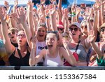 nyon  switzerland   18 july... | Shutterstock . vector #1153367584