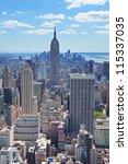 new york city  ny   aug 12 ... | Shutterstock . vector #115337035