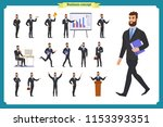 people character business set... | Shutterstock .eps vector #1153393351