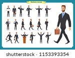 people character business set... | Shutterstock .eps vector #1153393354