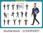 people character business set... | Shutterstock .eps vector #1153393357