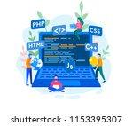 engineering  programmer... | Shutterstock .eps vector #1153395307