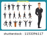 people character business set... | Shutterstock .eps vector #1153396117