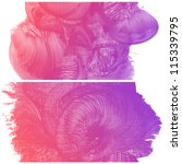 set of colorful abstract water...   Shutterstock . vector #115339795