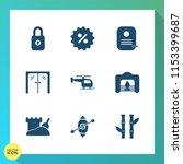 modern  simple vector icon set...   Shutterstock .eps vector #1153399687