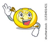 okay cd player character cartoon | Shutterstock .eps vector #1153401421