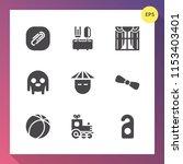 modern  simple vector icon set... | Shutterstock .eps vector #1153403401
